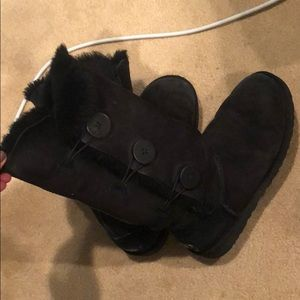 Tall ugg boots with buttons